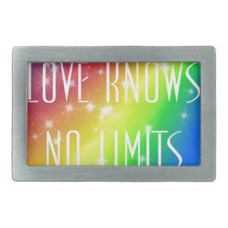 Love Knows No Limits Belt Buckle