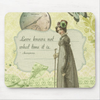 Love Knows no Time Mouse Pad