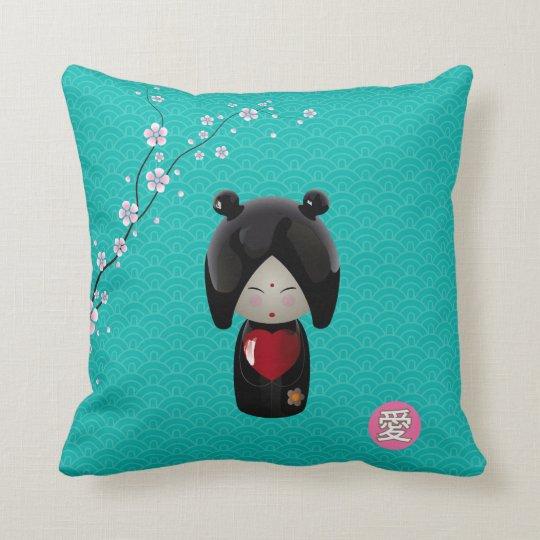 Love Kokeshi Pillow