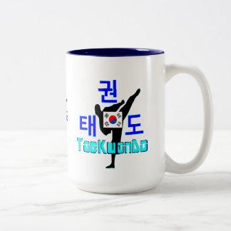 ❤☯✔Love Korean Martial Art-TaeKwonDo Two-tone Two-Tone Coffee Mug