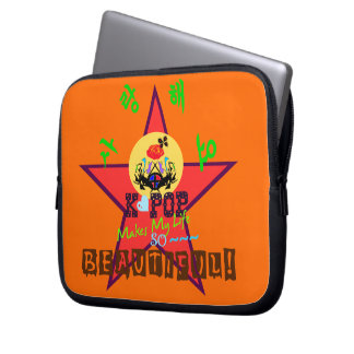 ╚»♪♥Love KPOP FǻñtâbüℓöúŞ Laptop Sleeve♥♫«╝ Computer Sleeve