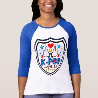 ╚»♪♥Love KPOP Stylish 3/4 Sleeve Raglan Shirt♥♫«╝ T-Shirt