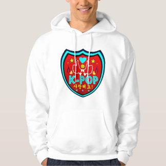 ♪♥Love KPOP Sweatshirt♥♫ encapuchado básico Jersey Con Capucha