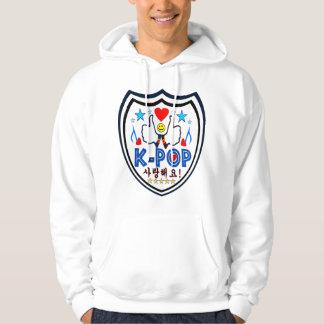 ♪♥Love KPOP Sweatshirt♥♫ encapuchado básico Suéter Con Capucha