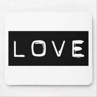 Love Label Mouse Pad