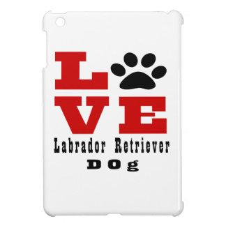 Love Labrador Retriever Dog Designes Cover For The iPad Mini