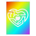 love labyrinth greeting cards