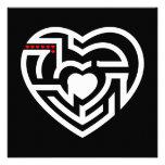 love labyrinth invitation