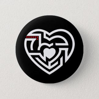 love labyrinth pinback button