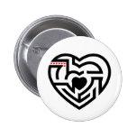 love labyrinth pins