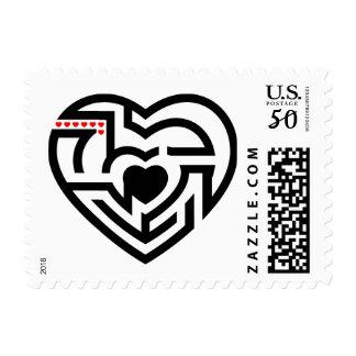 love labyrinth postage