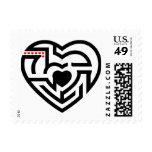 love labyrinth stamp