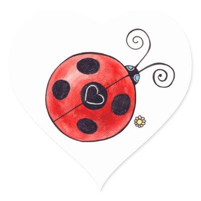 lucky ladybug christmas ornament