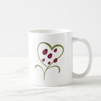 Love Ladybugs Classic White Coffee Mug