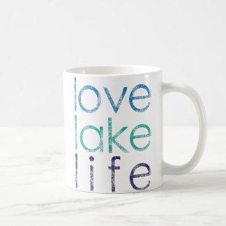Love Lake Life Classic White Coffee Mug