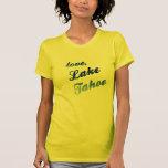 Love, Lake Tahoe - female yellow Tee Shirt