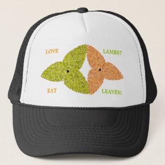 Love Lambs Eat Leaves Hat