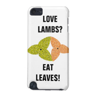 Love Lambs Eat Leaves iPod Case
