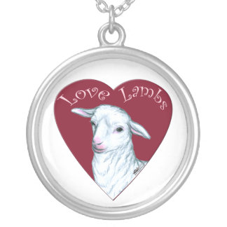 Love Lambs Personalized Necklace