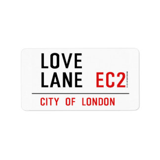 Love Lane Label