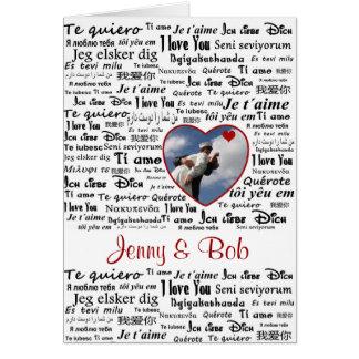 Love language card