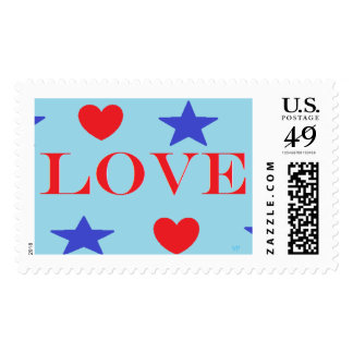 "Love Large, 2.5""x1.5"" $0.47 (1st Class 1oz) Stamps"