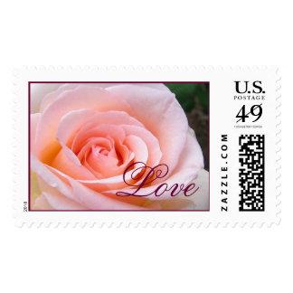 Love Large Rose Stamp