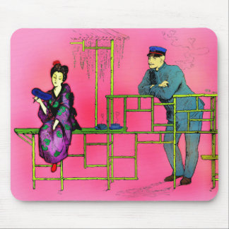 Love Lasts Mouse Pad