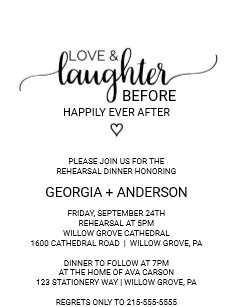 259566cfb909 Love   Laughter Before Happily Ever After Invitation