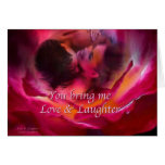 Love & Laughter Greeting Card