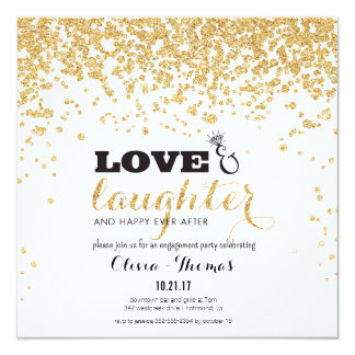Love & Laughter & Happy Ever After Invitation