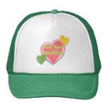 Love Laughter Hearts Trucker Hat