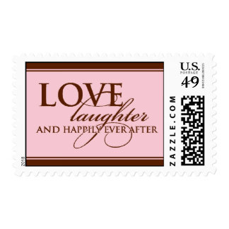 Love, Laugther & Happily Ever After Stamps