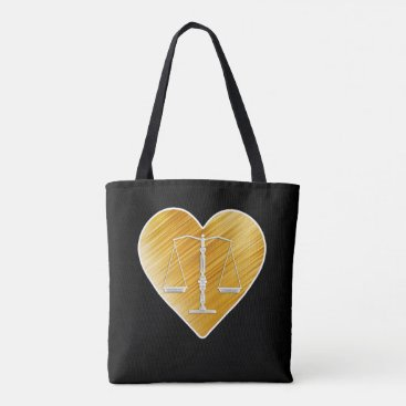 Lawyer Themed Love Law | Adorable Gifts Tote Bag