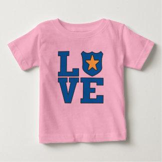 Love Law Enforcement Baby T-Shirt