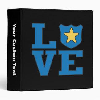 Love Law Enforcement Binder