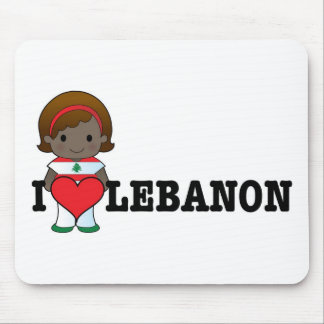 Love Lebanon Mouse Mat