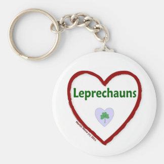 Love Leprechauns Keychain