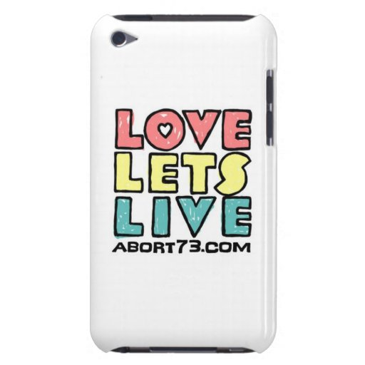 Love Lets Live (Alternate) / Abort73.com Case-Mate iPod Touch Case