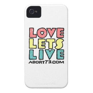 Love Lets Live (Alternate) / Abort73.com iPhone 4 Case-Mate Case