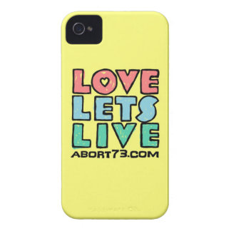 Love Lets Live (Alternate) / Abort73.com iPhone 4 Cases