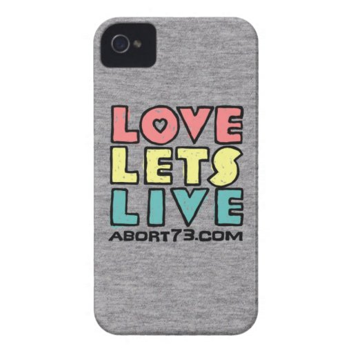 Love Lets Live (Alternate) / Abort73.com iPhone 4 Covers