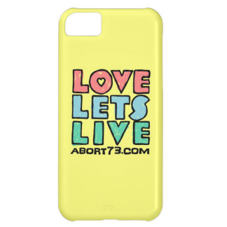 Love Lets Live (Alternate) / Abort73.com iPhone 5C Cover
