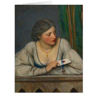Love Letter 1884 Card
