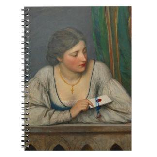 Love Letter 1884 Spiral Notebook