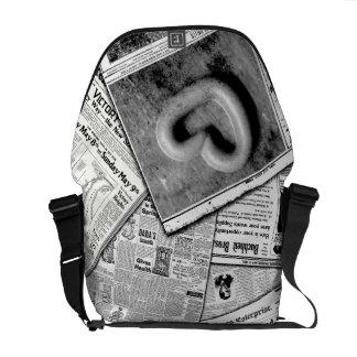 Love letter courier bag