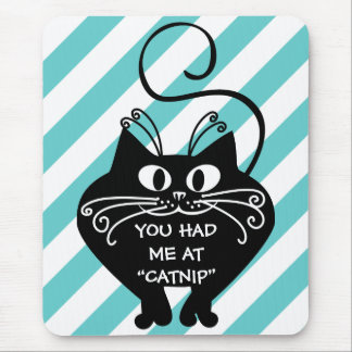 Love letter from my cat: you can buy my love mouse pad