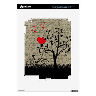 Love letter iPad 3 skin