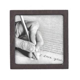 love letter keepsake box