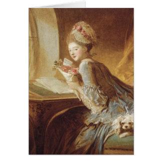 Love letter light up my day Jean Honoré Fragonard Card